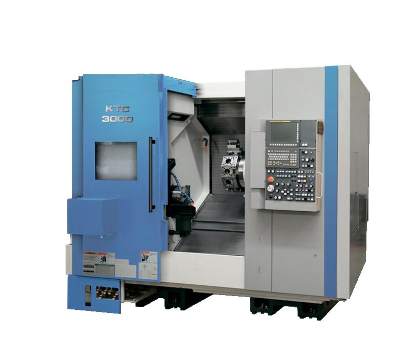 Токарно-фрезерный обрабатывающий центр «КТС» модели 3000