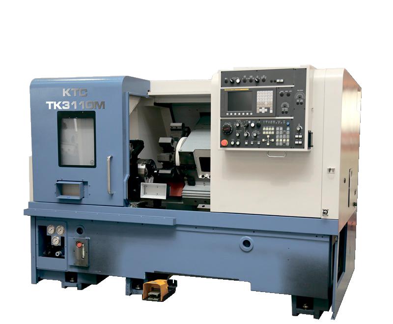 Токарно-фрезерный обрабатывающий центр «КТС» модели ТК3110 М