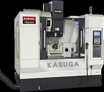 Пятиосевые вертикальные обрабатывающие центры KASUGA серии MF/KU