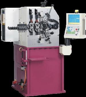 Пружинонавивочные автоматы серии CSC с 5 осями фото