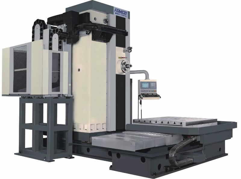 Горизонтальные фрезерно-расточные обрабатывающие центры серии  BMC-110FТ2/FТ3/FТ4