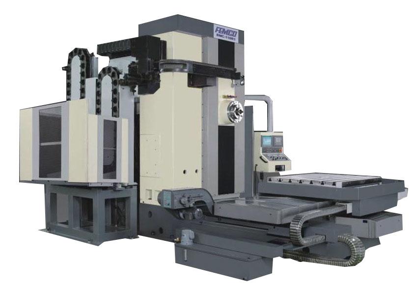 Горизонтальные фрезерно-расточные обрабатывающие центры серии  BMC-110R1/R2/R3