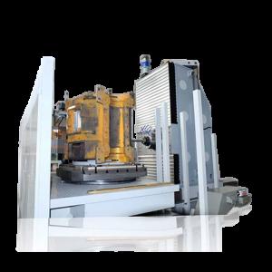 Фрезерно-расточной станок для обработки корпусных деталей фото