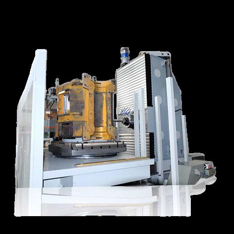 Фрезерно-расточной станок для обработки корпусных деталей